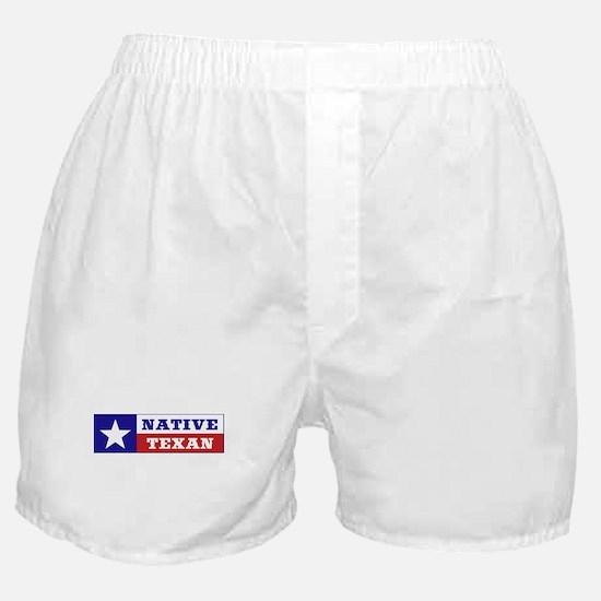 Native Texan Boxer Shorts