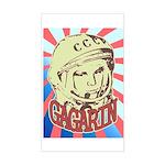 Gagarin Sticker (Rectangle)
