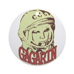 Gagarin Ornament (Round)