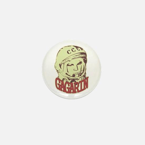 Gagarin Mini Button