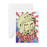 Gagarin Greeting Card