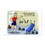 Math Stretches Mini Poster Print