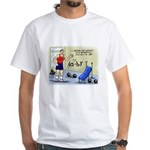 Math Stretches White T-Shirt