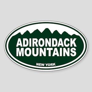 Adirondack Mountains Sticker (Oval)