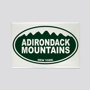 Adirondack Mountains Rectangle Magnet
