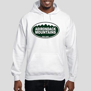 Adirondack Mountains Hooded Sweatshirt