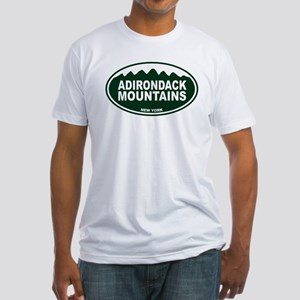 Adirondack Mountains Fitted T-Shirt