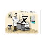 Blue Pill Kurtosis Mini Poster Print