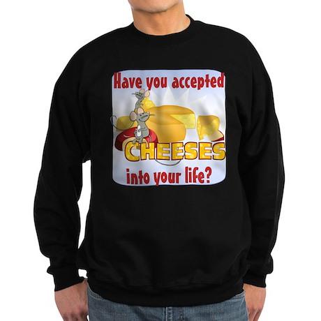 Accept Cheeses Sweatshirt (dark)