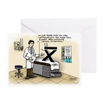 Blue Pill Kurtotic Greeting Card