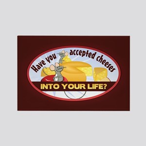 Accept Cheeses Rectangle Magnet