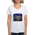 Canceling Out Women's V-Neck T-Shirt