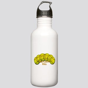 Softballs roll Stainless Water Bottle 1.0L