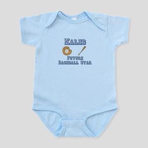 Kaleb - Future Baseball Star Infant Bodysuit