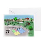 Fibonacci Hopscotch Greeting Card