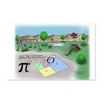 Fibonacci Hopscotch Mini Poster Print