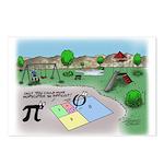 Fibonacci Hopscotch Postcards (Package of 8)