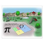 Fibonacci Hopscotch Small Poster