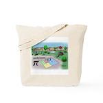 Fibonacci Hopscotch Tote Bag