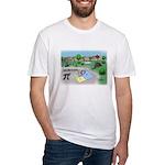 Fibonacci Hopscotch Fitted T-Shirt