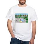 Fibonacci Hopscotch White T-Shirt