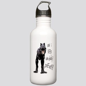 Can I keep him? Stainless Water Bottle 1.0L