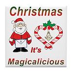 The Magic of Christmas Tile Coaster