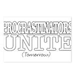 Procrastinators Postcards (Package of 8)