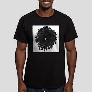 Puli Jump Men's Fitted T-Shirt (dark)