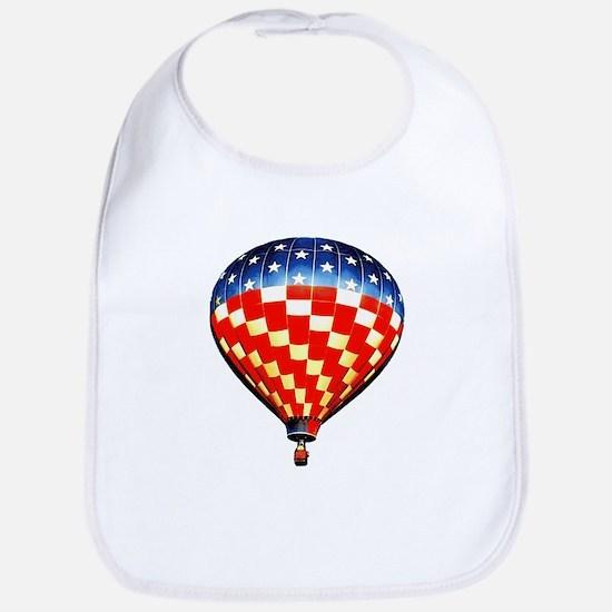 American Hot Air Balloon Bib