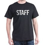 Staff (white) Dark T-Shirt