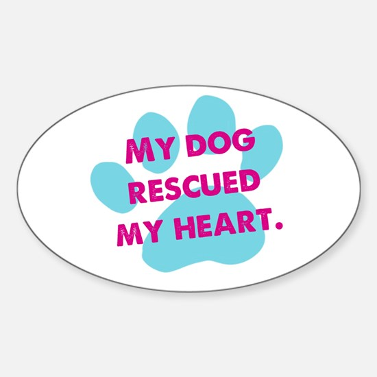 Rescue Dog Love Decal
