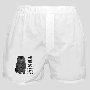 Puli : Yes I Do Have Eyes Boxer Shorts
