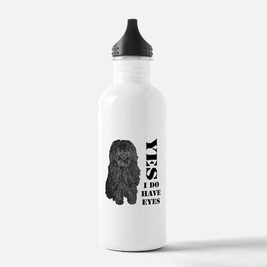 Puli : Yes I Do Have Eyes Water Bottle