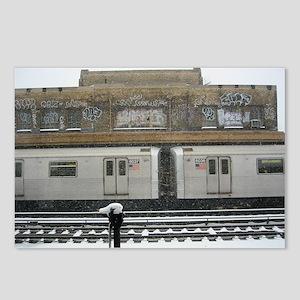 Brooklyn Snow Postcards (Package of 8)