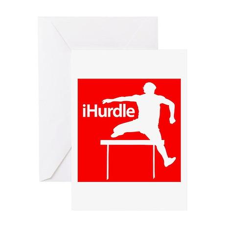 iHurdle Greeting Card