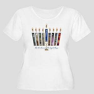 Plus Women's Plus Size Scoop Neck T-Shirt