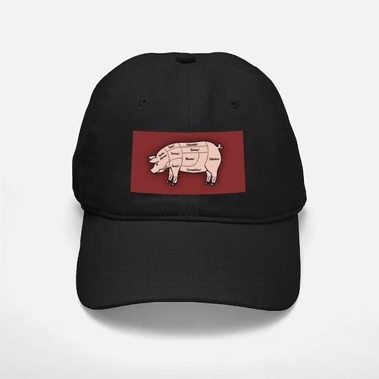 Pork Cuts 1 Baseball Hat