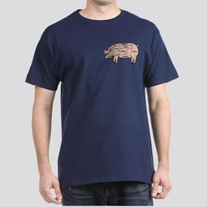 Pork Cuts 1 Dark T-Shirt