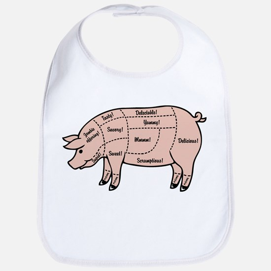 Pork Cuts 1 Bib