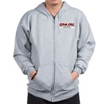 GRAY Color GYMA Zip Hoodie (Non-Customized)
