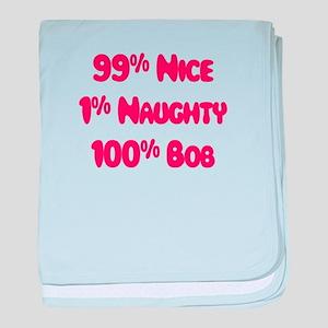 Bob - 1% Naughty baby blanket