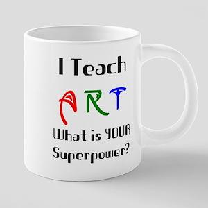 teach art 20 oz Ceramic Mega Mug