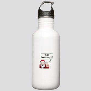 Bob 's Been Naughty Stainless Water Bottle 1.0L