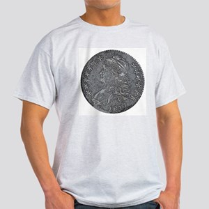Bust Half Double-Sided Ash Grey T-Shirt