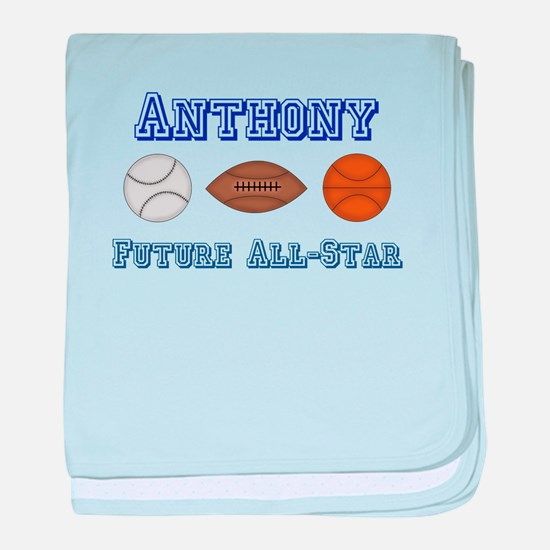 Anthony - Future All-Star baby blanket