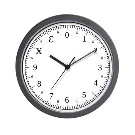 Dozenal Wall Clock
