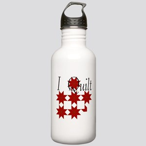 Star Quilt Pattern Stainless Water Bottle 1.0L