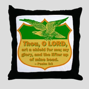Psalm 3:3 Throw Pillow