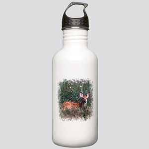 Whitetail Deer Stainless Water Bottle 1.0L